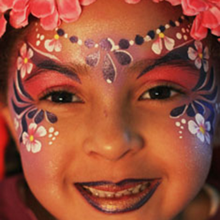face painting make-up artist-uk