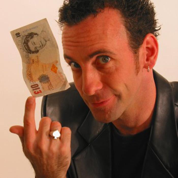 magician-performer paul zenon