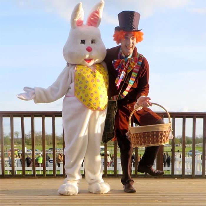 Mad Hatter and Bunny 2