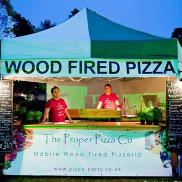 Proper Pizza Co Wood Fired Pizza caterin